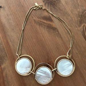 Kate spade huge shell necklace